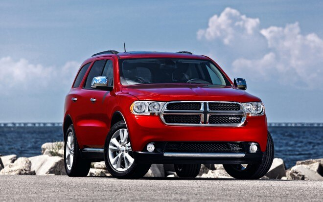 2012 Dodge Durango Front Three Quarter1 660x413