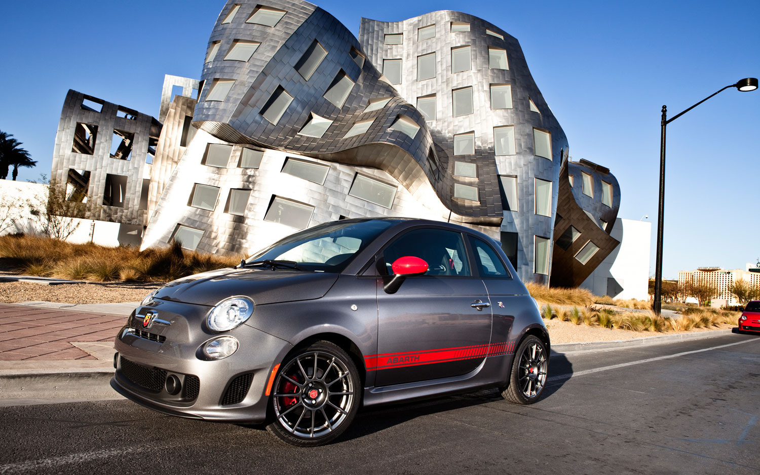2012 Fiat 500 Abarth Driver Side1