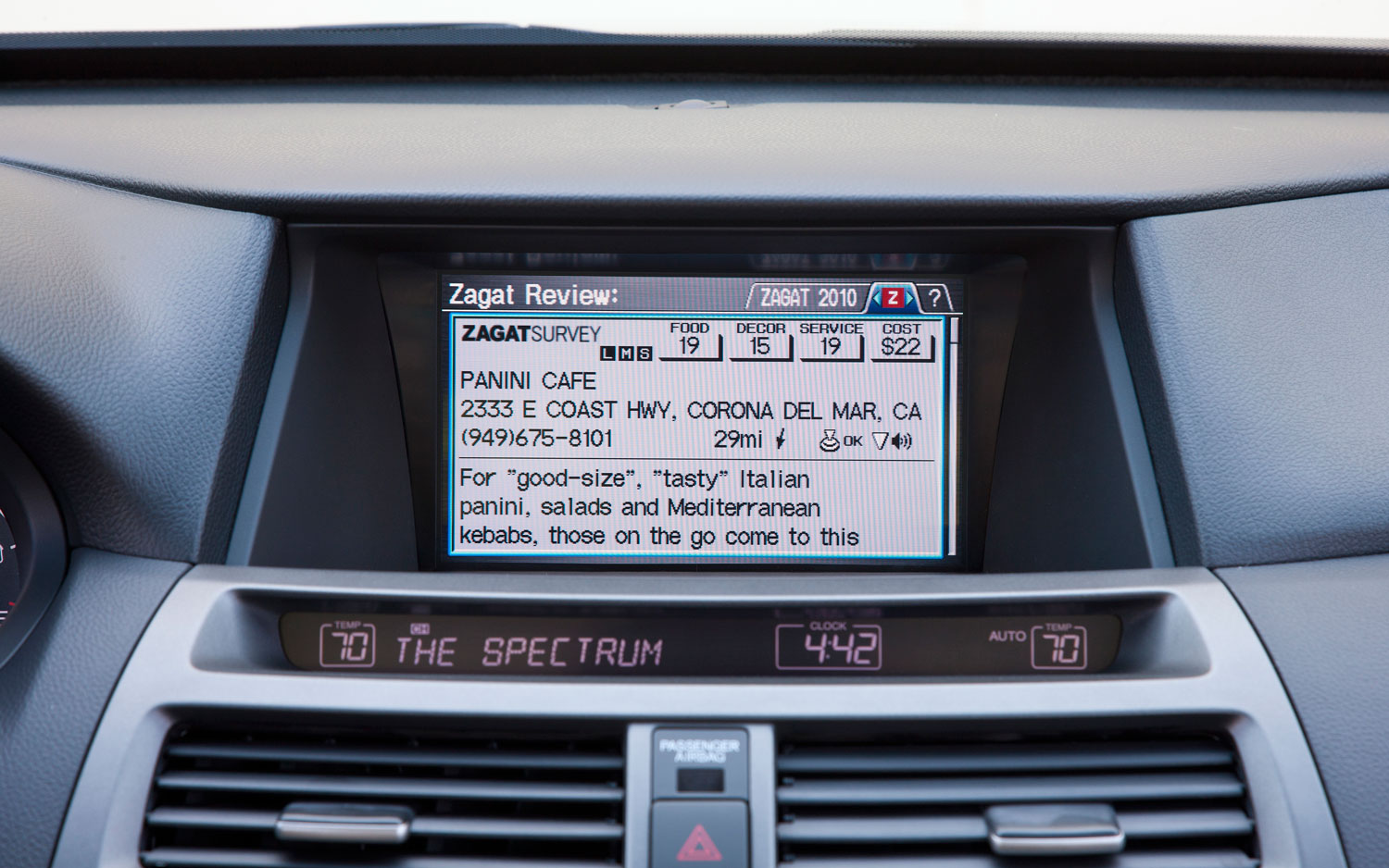 2012 Honda Accord Infotainment System1