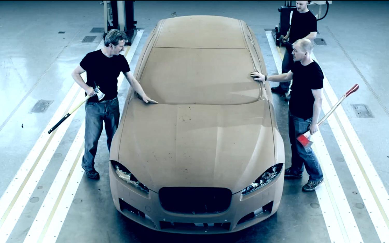 2012 Jaguar XFR Clay Model Video Find 21