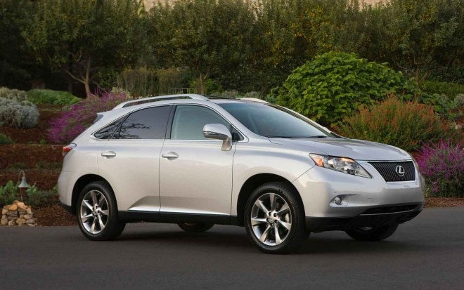 2012 Lexus RX 350 Front Three Quarter1 660x413