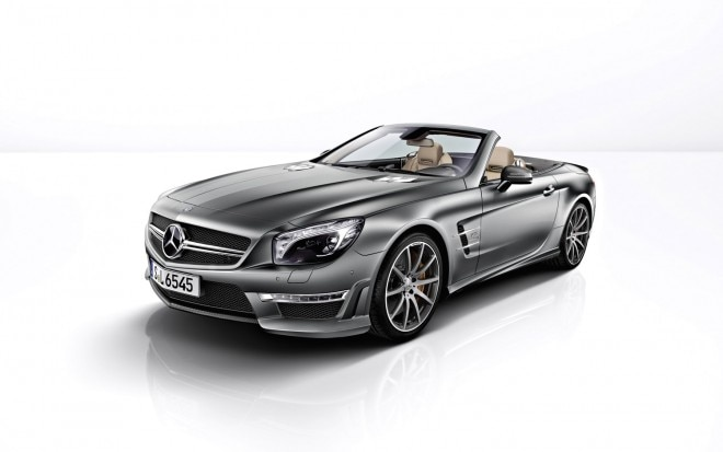 2012 Mercedes Benz SL65 AMG Front Three Quarter1 660x413