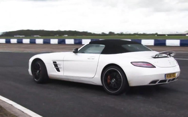 2012 Mercedes Benz SLS AMG Roadster On Track1