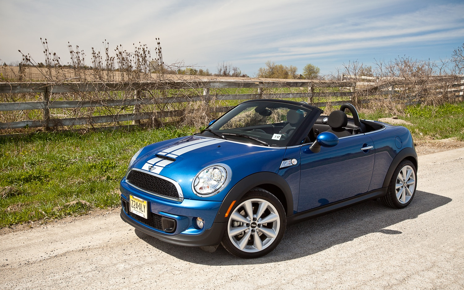 2012 Mini Cooper S Roadster Front Left Side View 21