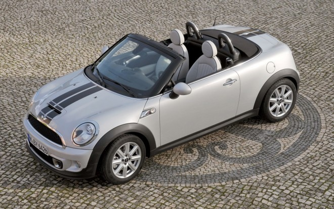 2012 Mini Roadster Front Three Quarter Aerial1 660x413