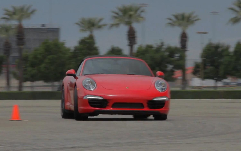 2012 Porsche 911 Carrera S Cabriolet Front Three Quarter Motion Ignition1