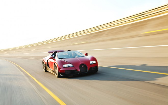 2013 Bugatti Veyron 16 4 Grand Sport Vitesse Front Right View1 660x413