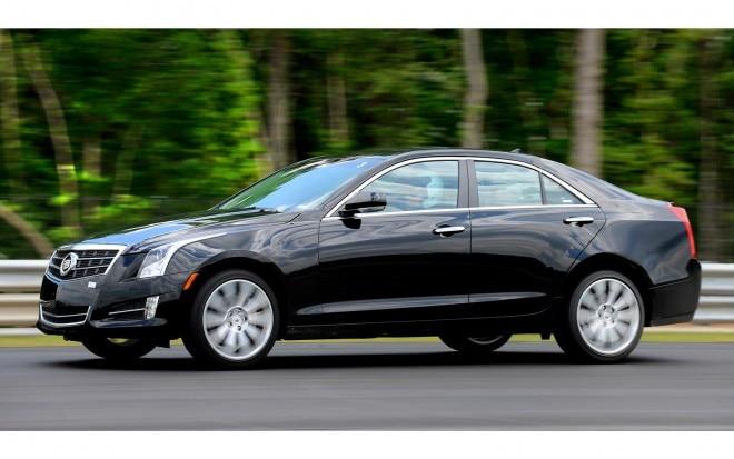 2013 Cadillac ATS Front Three Quarter1 660x413