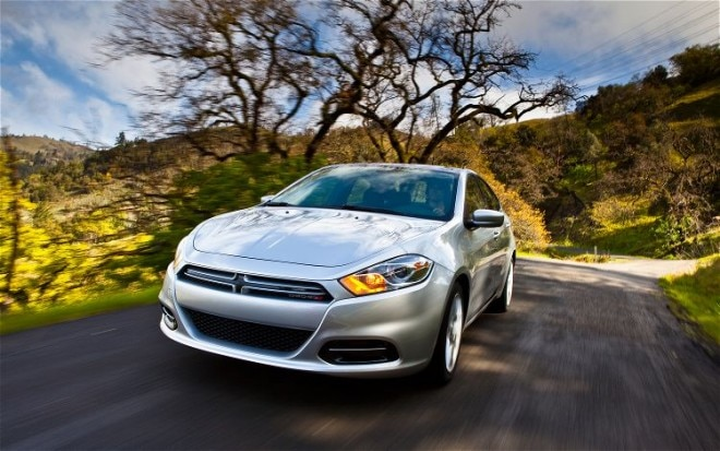 2013 Dodge Dart Front Three Quarter In Motion 2