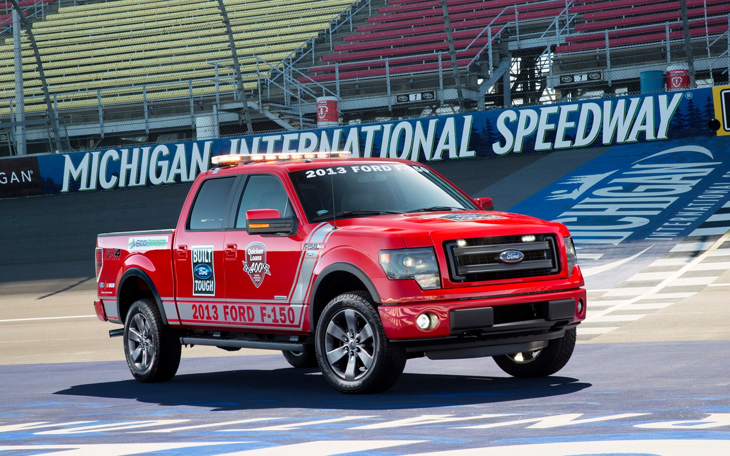 2013 Ford F 150 FX4 Front Three Quarter Pacecar1