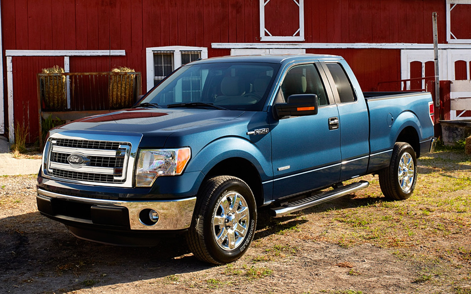 2013 Ford F150 XLT Exterior1