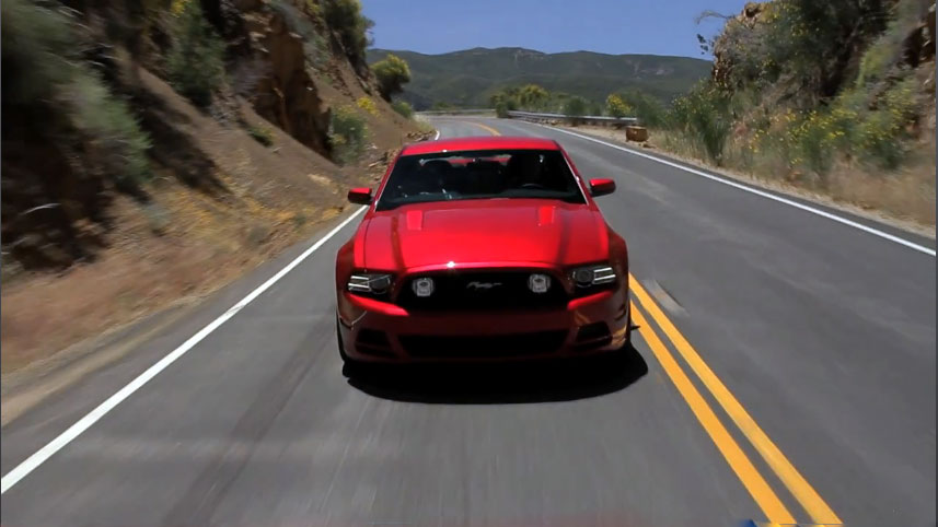2013 Ford Mustang GT Front Motion1