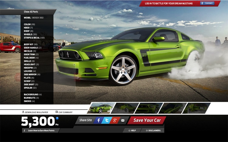 2013 Ford Mustang Customizer 11