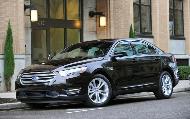 2013 Ford Taurus Front Three Quarter1 660x413