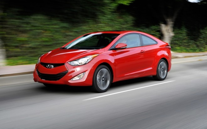 2013 Hyundai Elantra Coupe Front Three Quarter In Motion1 660x413