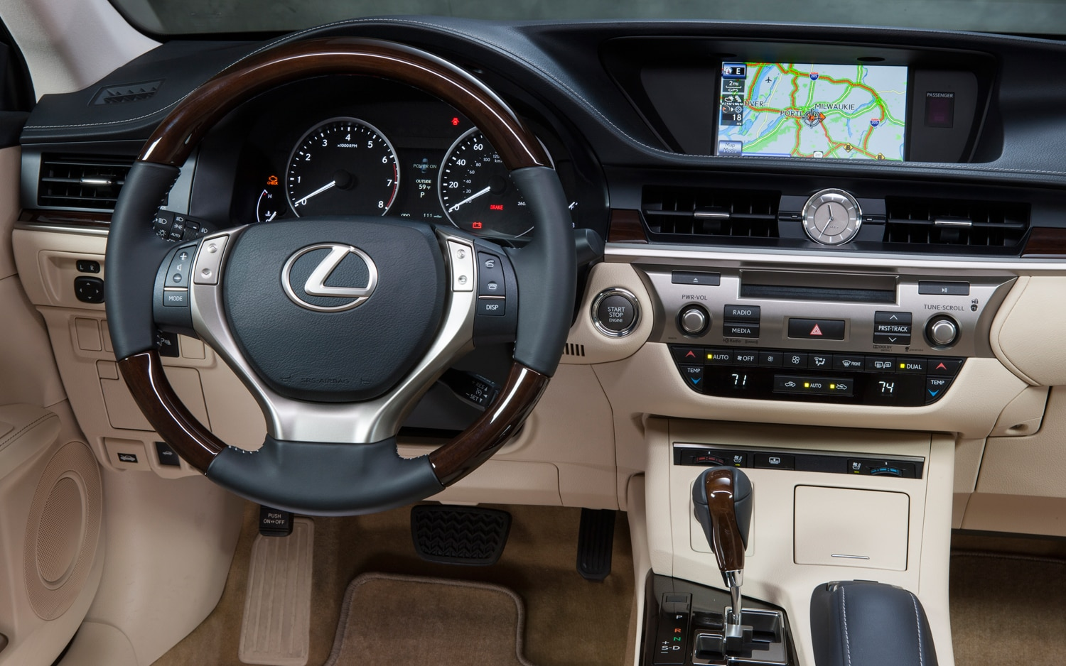 first drive: 2013 lexus es - automobile magazine