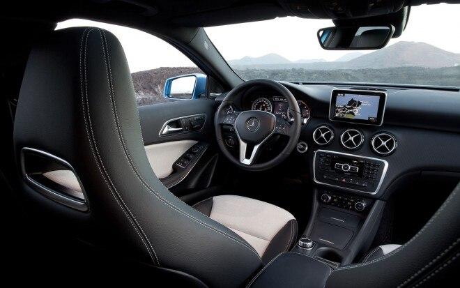 2013 Mercedes Benz A Class Cockpit1 660x413