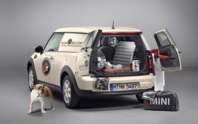 2013 Mini Clubvan Cargo Items Bulldog1