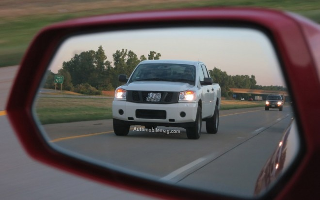 2013 Nissan Titan Spied Front Three Quarter1 660x413