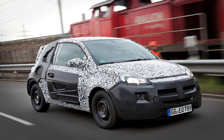 2013 Opel Adam Spy Shot 11