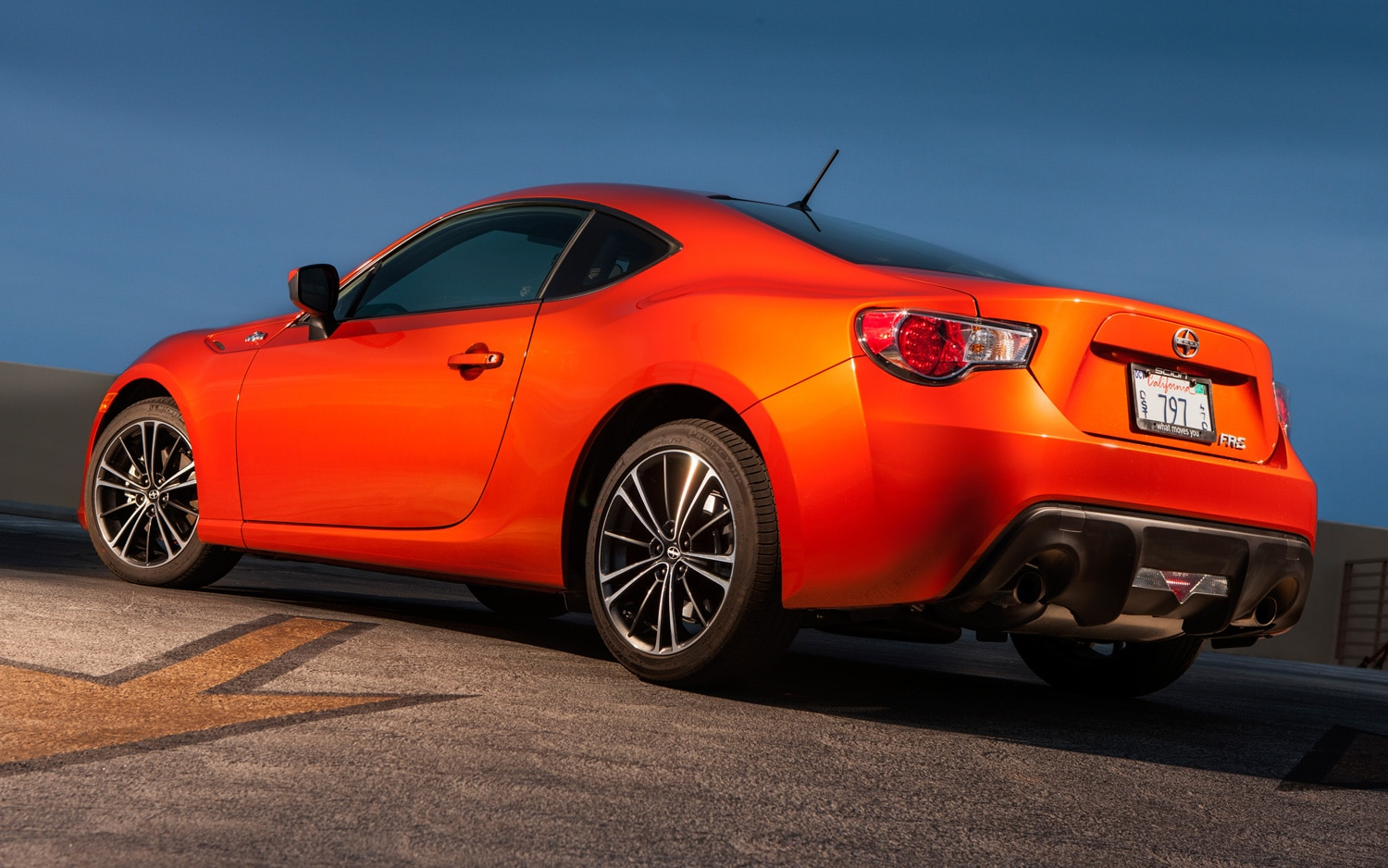 2013 Scion FR S Rear Three Quarter1