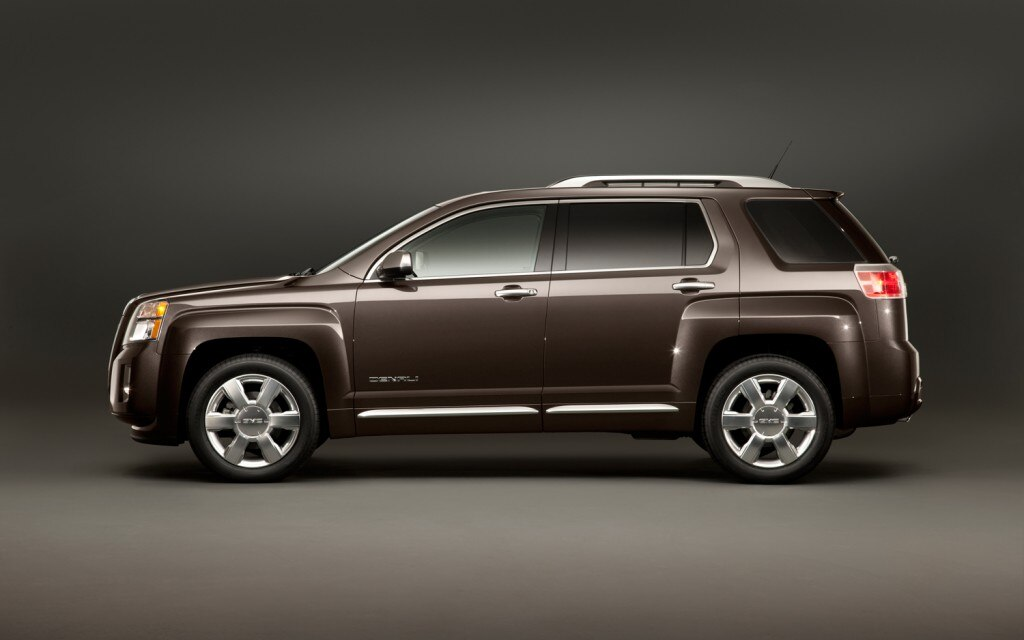 2013 gmc terrain denali pricing starts at 35 350. Black Bedroom Furniture Sets. Home Design Ideas