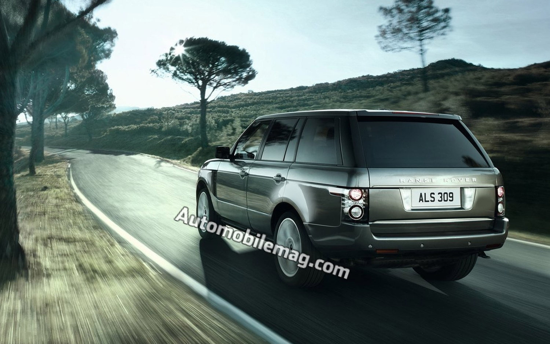 2014 Land Rover Range Rover Rear Three Quarter1