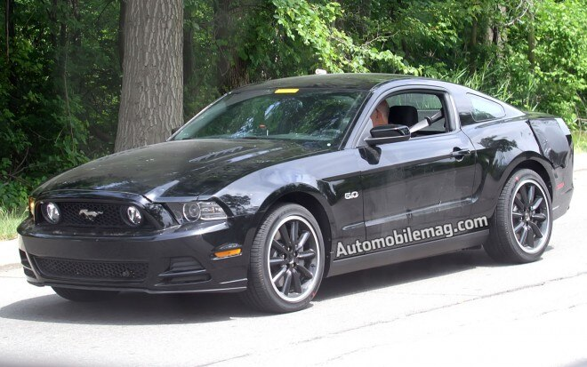 2015 Ford Mustang Prototype Mule Front View12 660x413