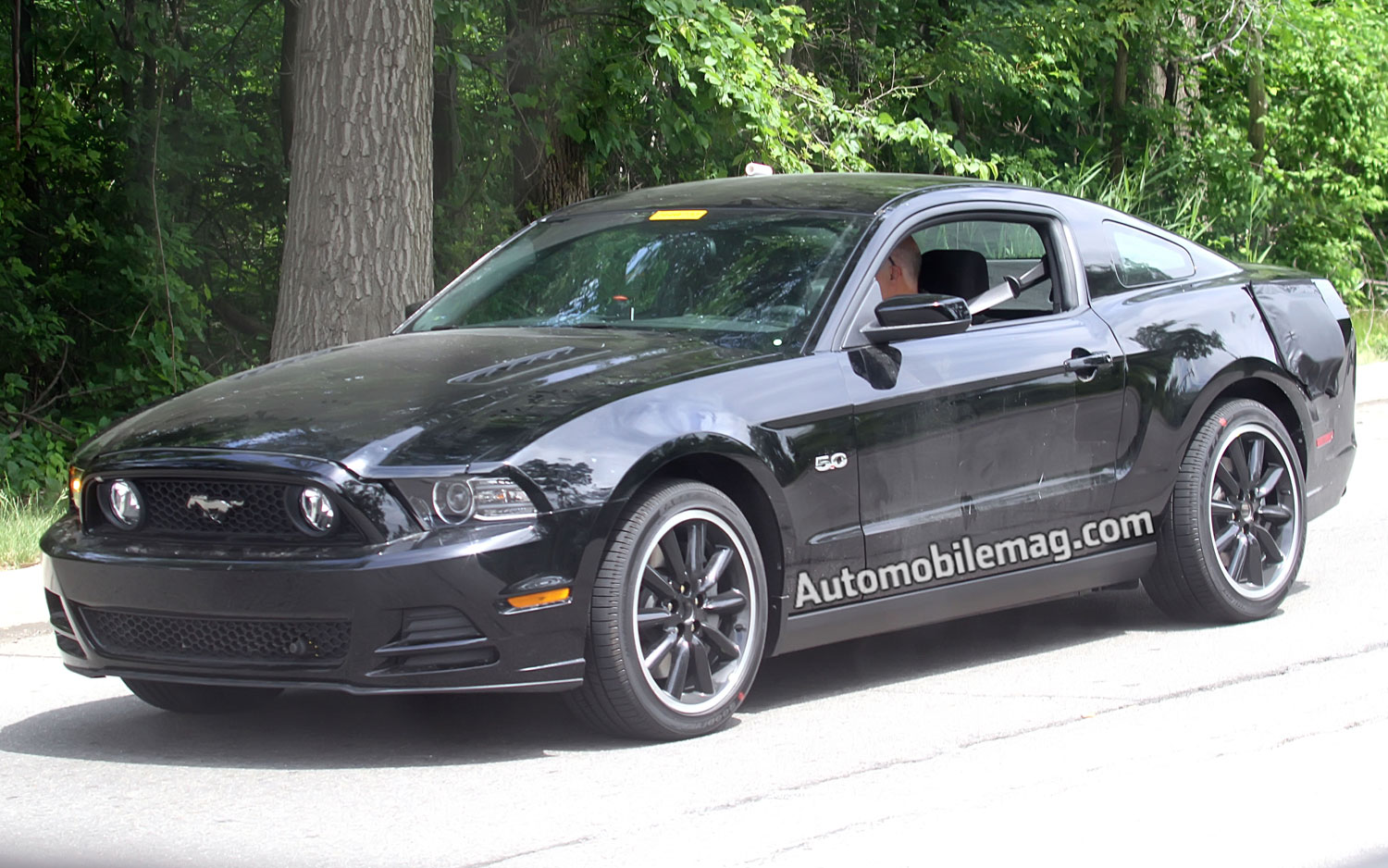 2015 Ford Mustang Prototype Mule Front View12