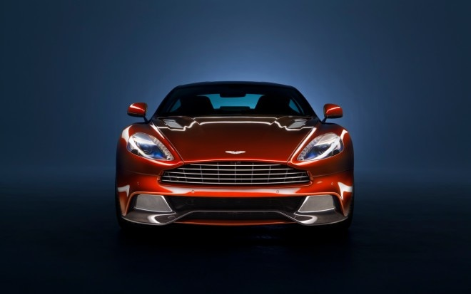 Aston Martin Vanquish Front End