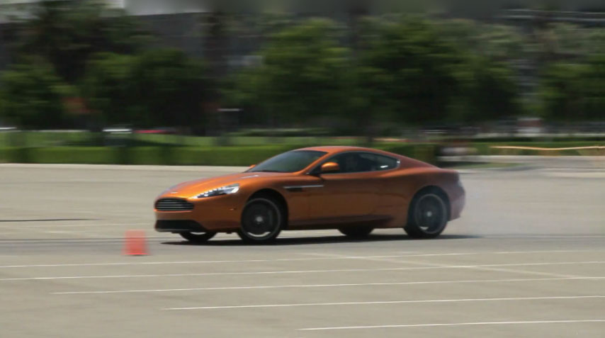 Aston Martin Virage Power Slide1
