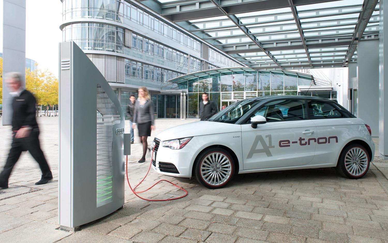 Audi A1 E Tron Charging 21