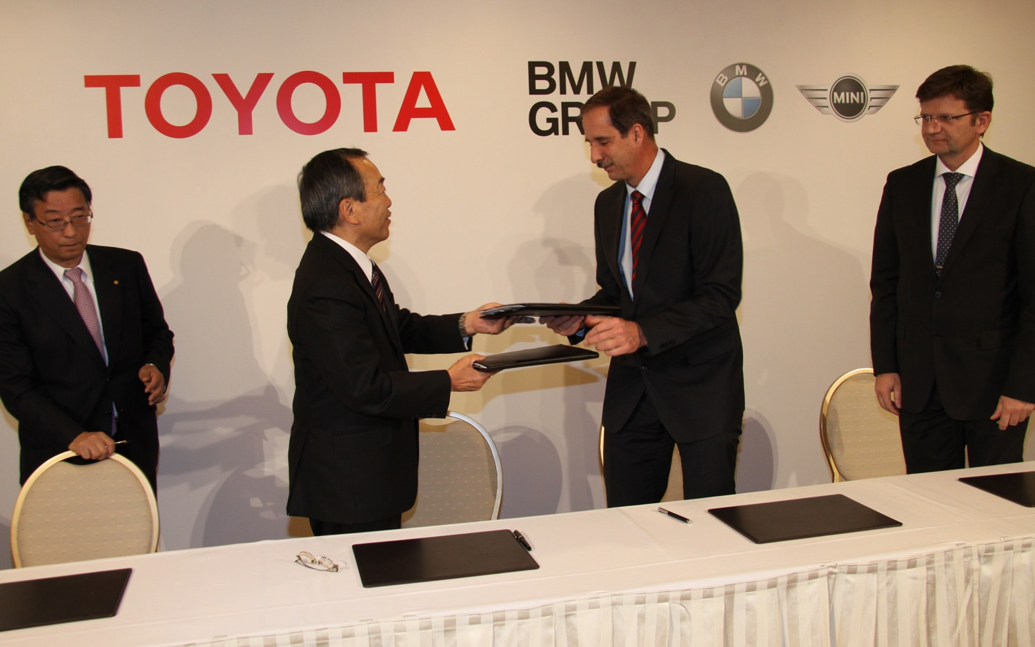 BMW Toyota Press Conference 11