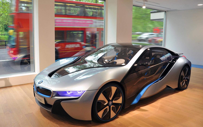 BMW I Park Lane Interior With I8 Concept1