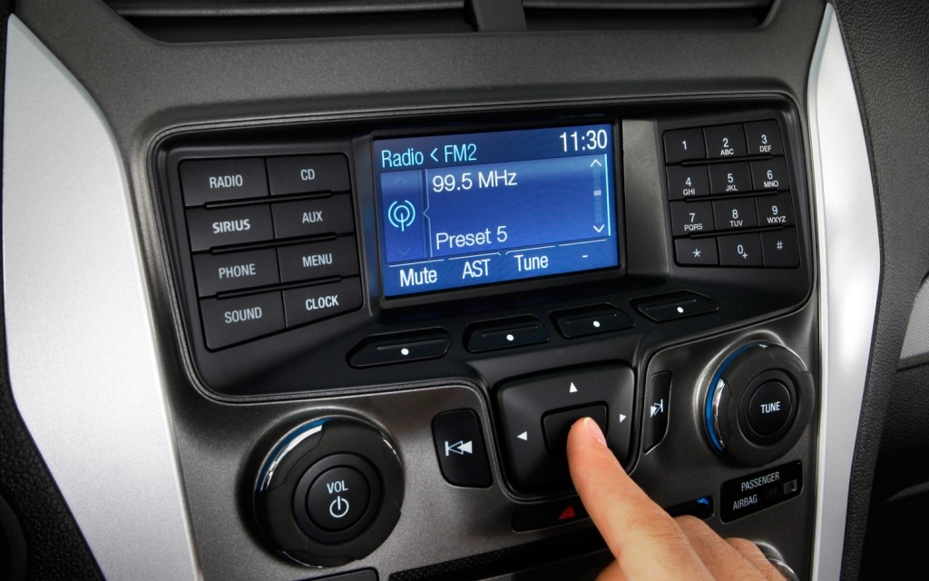 Ford Sync Interface11