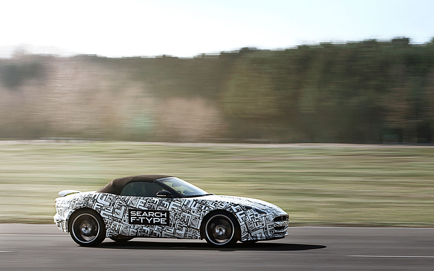 Jaguar F Type Prototype Driving1
