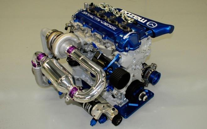 Mazda Skyactiv Diesel Racing Engine 660x413