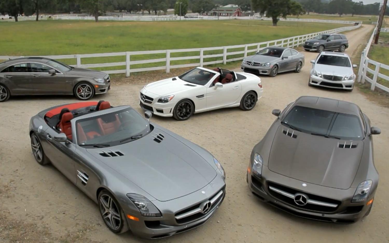 Mercedes Benz AMG Lineup1