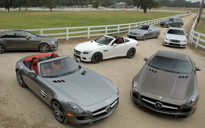 Feature Flick Mercedes C63 Amg And Sls Amg Coupe Reviewed