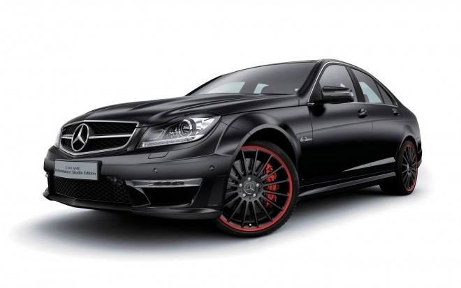 Mercedes Benz C63 AMG Performance Studio Edition Front Three Quarter1 660x413