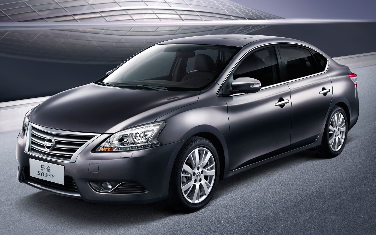 Nissan Sylphy Front Three Quarter View1