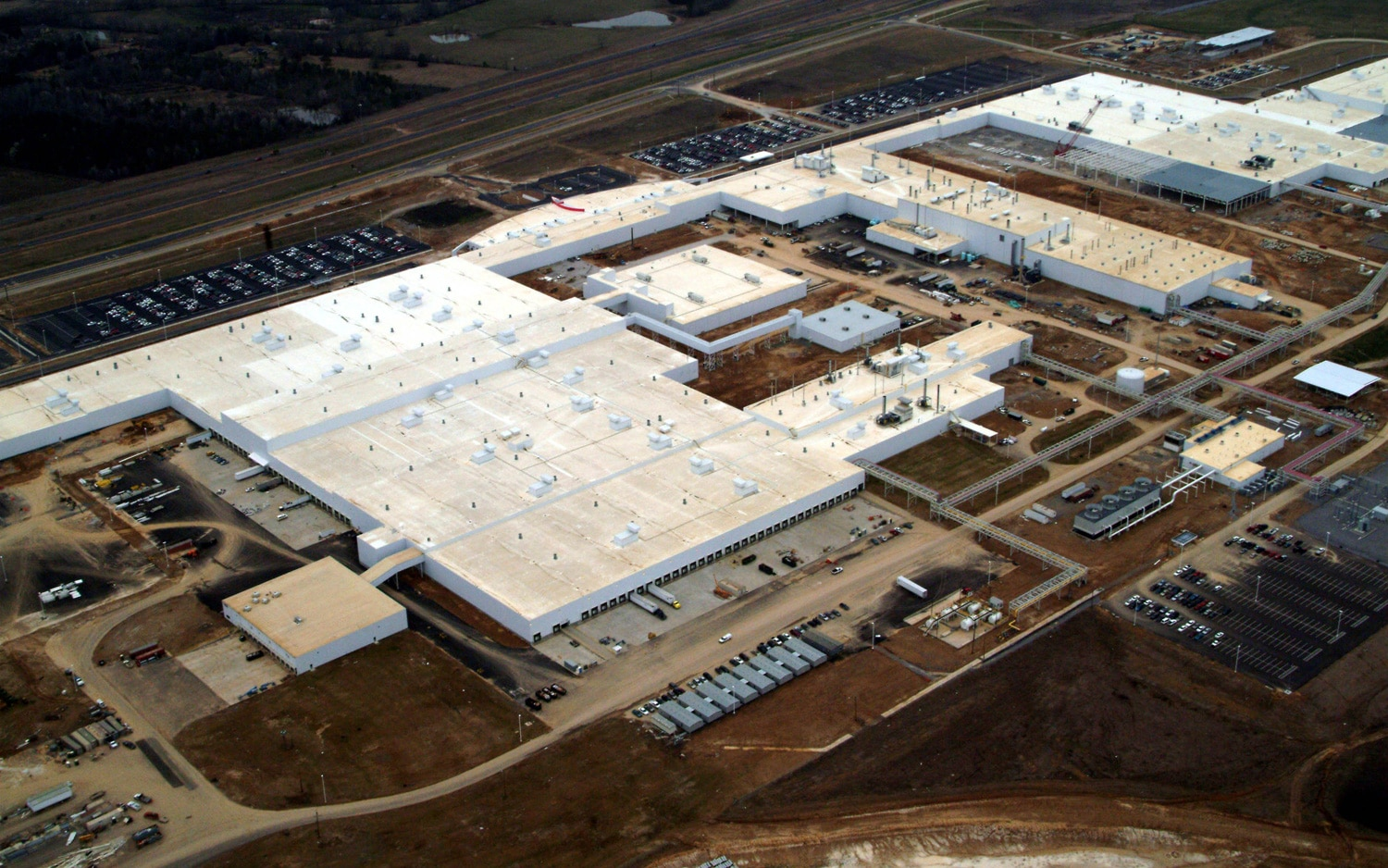 Nissan Plant In Canton MS Aerial1