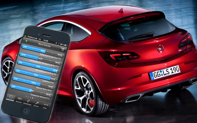 Opel Astra OPC With IPhone1