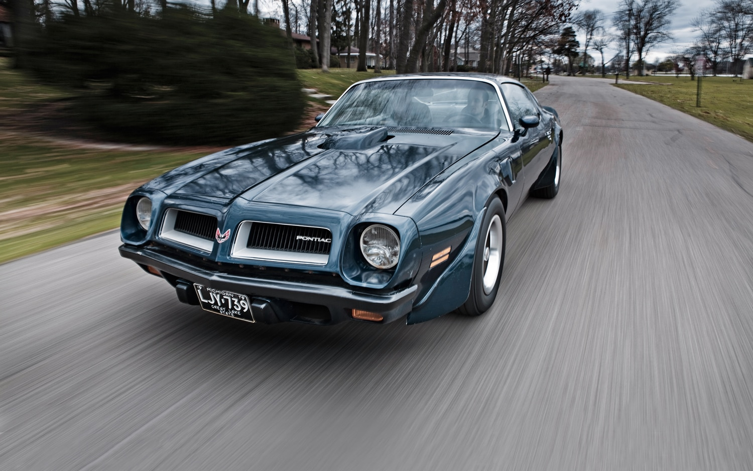 Pontiac Firebird Trans Am SD 455 Front Three Quarter1