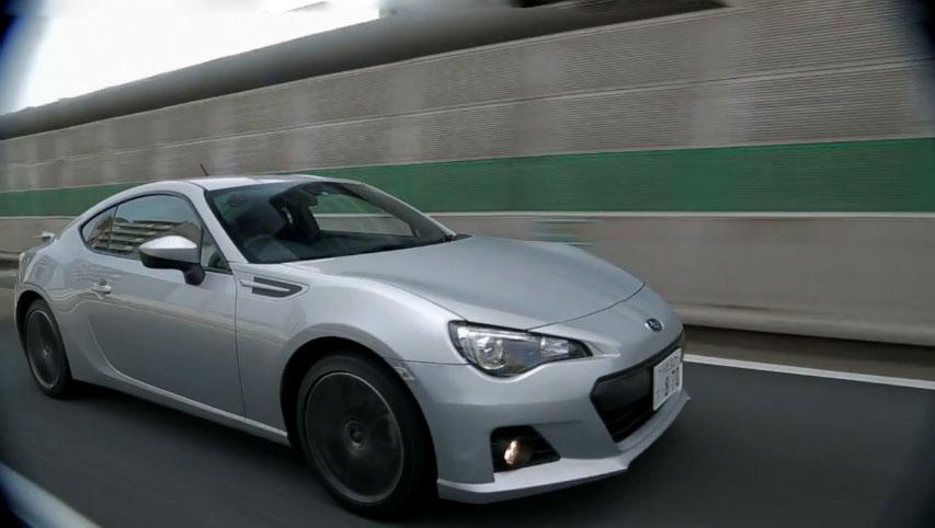 Subaru BRZ Close Up Motion1
