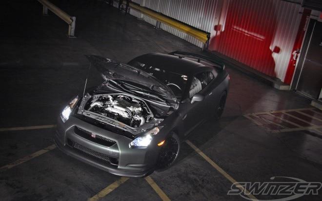 Switzer Ultimate Street GT R Front Three Quarter Hood Open1 660x413