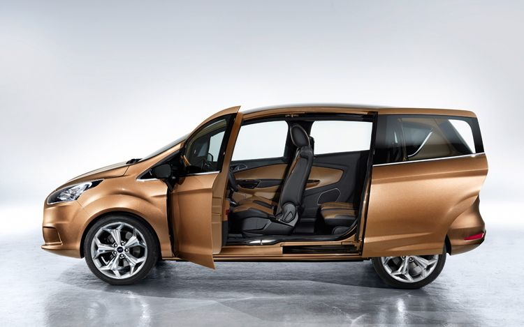 Ford B Max Side View With Doors Opened1