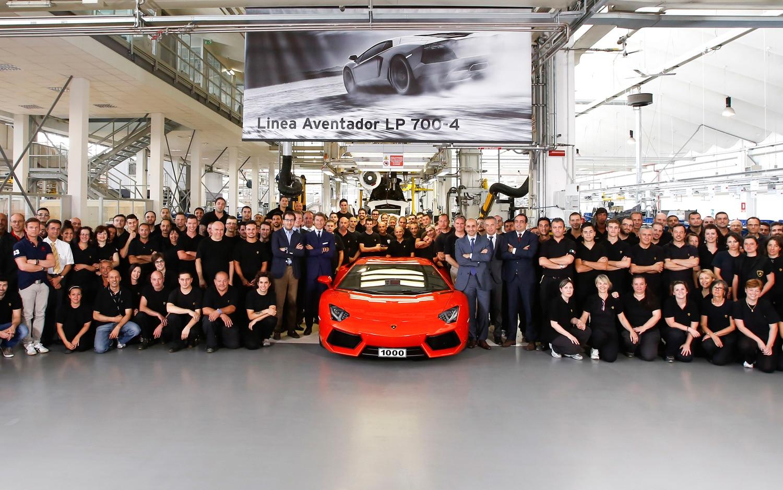 1000 Lamborghini Aventador LP700 4 Factory1