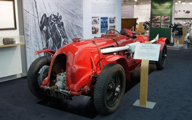 1932 Bentley Blower Race Car Front1 660x413