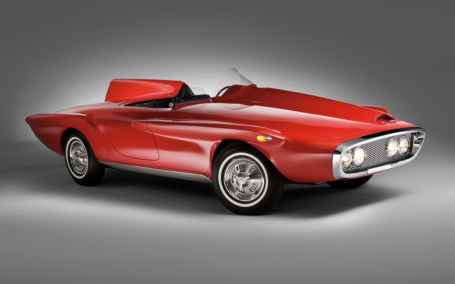 1960 Plymouth XNR Concept Front Three Quarter1